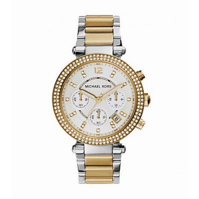 Michael Kors Ladies  Parker Two-Tone Watch MK5626