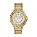 Michael Kors Ladies Kerry Pavé Gold-Tone Watch MK3312