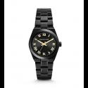 Michael Kors Ladies Channing Black-Tone Watch MK6100