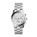 Michael Kors Ladies  Runway Silver-Tone Chronograph Watch MK5076