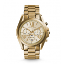 Michael Kors Ladies Bradshaw Gold-Tone Watch MK5605