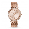 Michael Kors Ladies Darci Pavé Rose Gold-Tone Watch MK3192