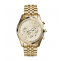 Michael Kors Ladies Lexington Gold-Tone Watch MK8281