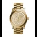 Michael Kors Ladies Slim Runway Rose Gold-Tone Acrylic Watch MK5706