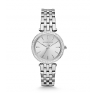 Michael Kors Ladies Mini Darci Silver-Tone Watch MK3364
