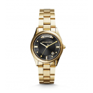Michael Kors Ladies Colette Rose Gold-Tone Watch MK6070