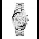 Michael Kors Ladies  Runway Silver-Tone Chronograph Watch MK5076