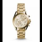 Michael Kors Ladies Bradshaw Gold-Tone Watch MK5798