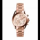 Michael Kors Ladies Bradshaw Rose Gold-Tone Watch MK5799