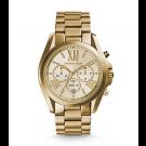 Michael Kors Ladies Bradshaw Gold-Tone Watch MK5605