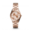 Michael Kors Ladies Colette Rose Gold-Tone Watch MK6071