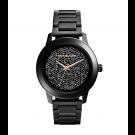Michael Kors Ladies Kinley Pavé Black Stainless Steel Watch MK5999
