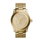 Michael Kors Ladies Slim Runway Rose Gold-Tone Acrylic Watch MK5706