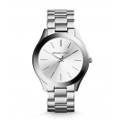Slim Runway Silver-Tone Watch MK3178