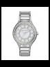 Michael Kors Ladies Kerry Pavé Silver-Tone Watch MK3311
