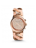 Michael Kors Ladies Runway Twist Rose Gold-Tone Watch MK4283