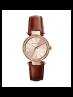 Michael Kors Ladies Kinley Pavé Silver-Tone Watch MK2353