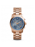 Michael Kors Ladies  Watch Hunger Stop Runway Rose Gold-Tone Watch MK5972
