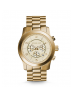 Michael Kors Ladies  Runway Oversized Gold-Tone Watch MK8077