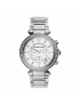 Michael Kors Ladies  Parker Silver-Tone Watch MK5353