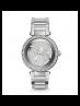 Michael Kors Ladies Parker Pavé Silver-Tone Watch MK5925