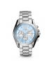 Michael Kors Ladies Bradshaw Silver-Tone Watch MK6099