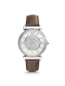 Michael Kors Ladies  Catlin Pavé Silver-Tone Watch MK2377