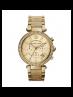 Michael Kors Ladies Parker Gold-Tone Horn Acetate Watch MK5632