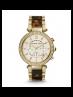 Michael Kors Ladies Parker Gold-Tone Tortoise Acetate Watch MK5688