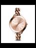 Michael Kors Ladies Slim Runway Rose Gold-Tone Chain-Link Watch MK3223