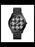 Michael Kors Ladies Runway Black Houndstooth Watch MK3326