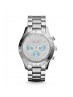 Michael Kors Ladies Layton Silver-Tone Watch MK6076