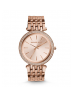 Michael Kors Ladies Darci Pavé Rose Gold-Tone Watch MK3192