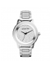 Michael Kors Ladies Kinley Pavé Silver-Tone Watch MK5996