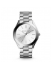 Michael Kors Ladies Slim Runway Silver-Tone Watch MK3178